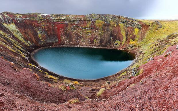 5. Кериз, Исландия в мире, озеро, природа