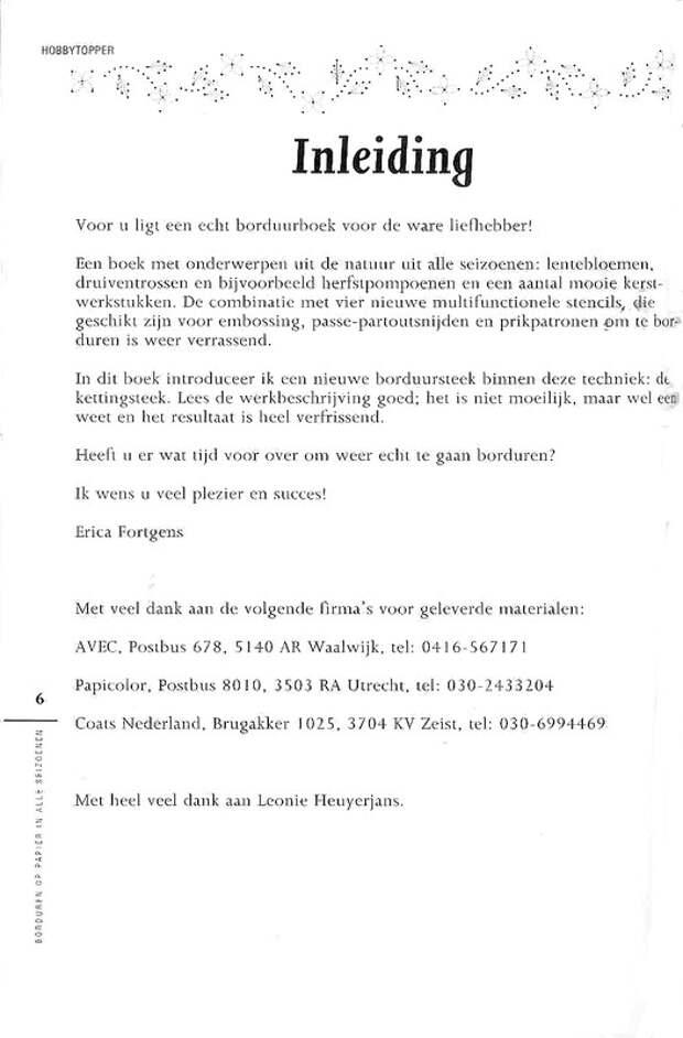 Изонить журнал - Borduren op Papier in alle Seizoenen