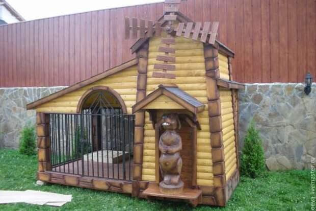 Красивая собачья будка - 1