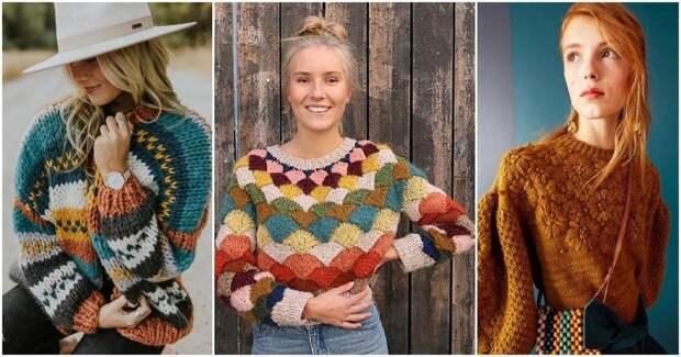 15 винтажных свитеров, которые сделают ваш образ особенным