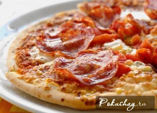 Быстрая вкусная пицца