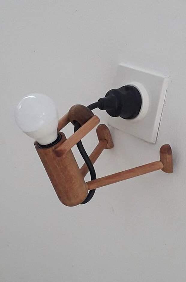 Светильник в розетку