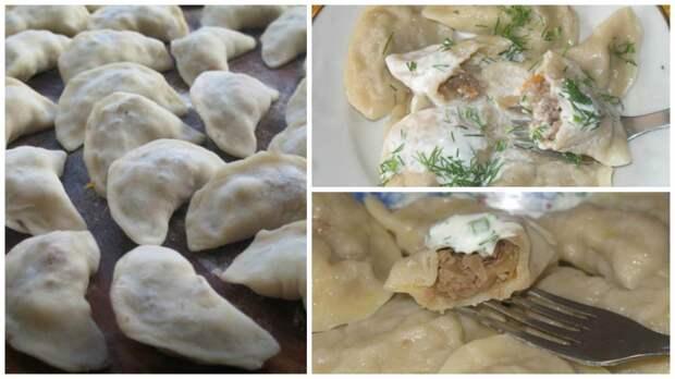 Рецепты по четвергам. Вареники с капустой (2)