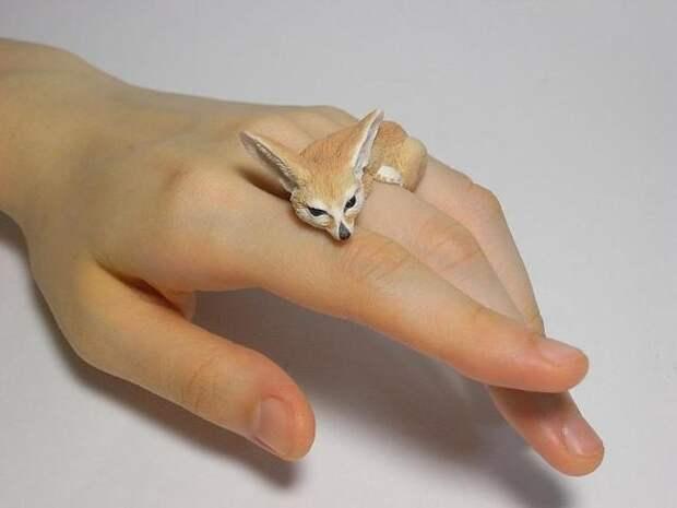 Интересные украшения из полимерной глины от Jiro Miura