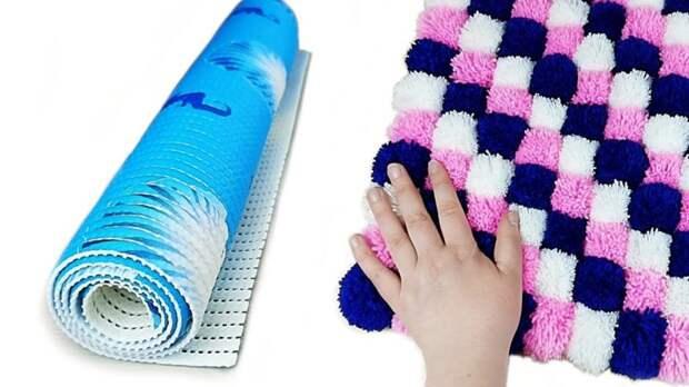 Креативное и полезное использования простого коврика для душа