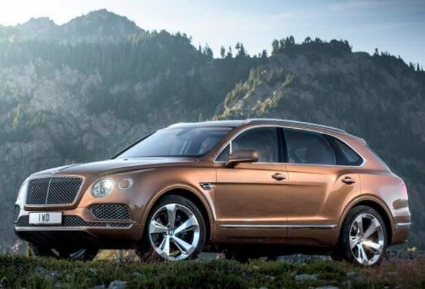 Bentley представила кроссовер Bentayga