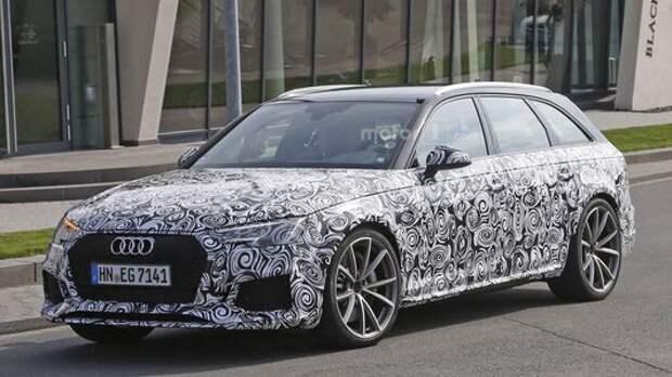 Audi RS 4 подсел на «гормон роста»