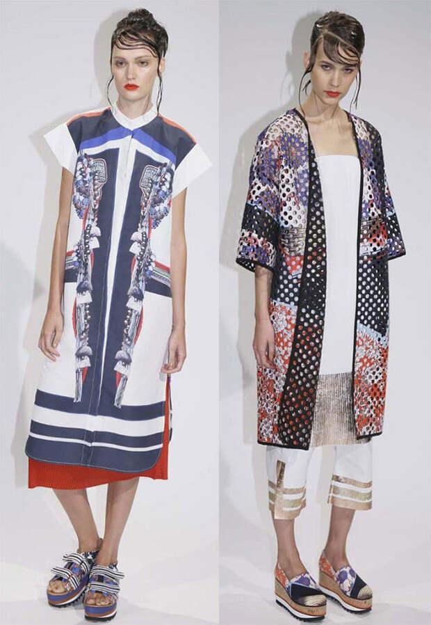 Японский стиль в модной одежде