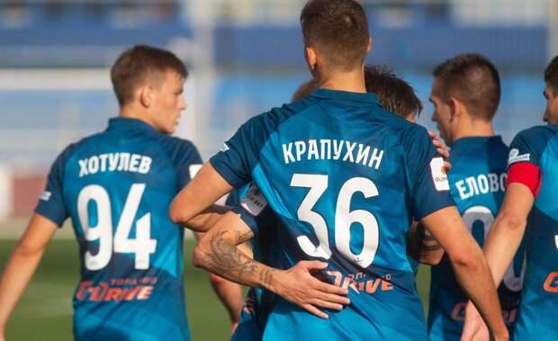 Суров забайкальский край. Крапухин забил, но не повезло «Зениту-2» с аутсайдером