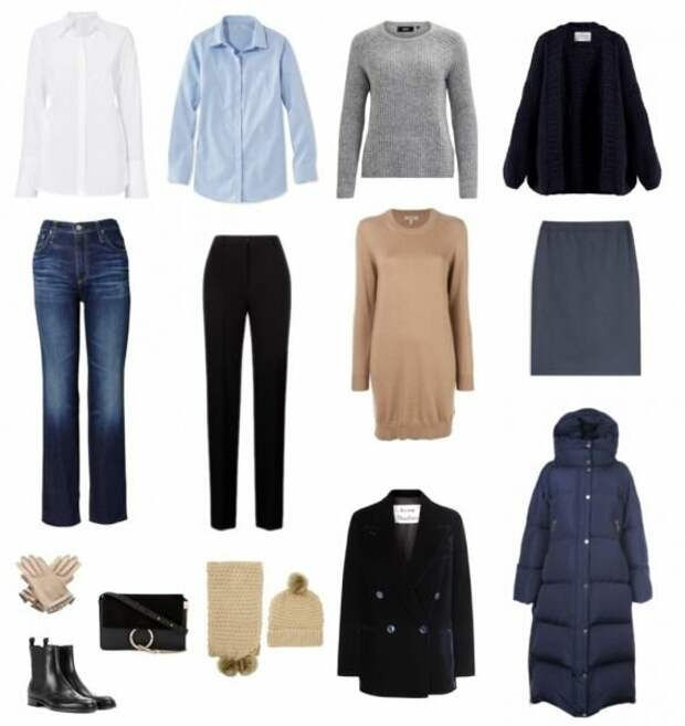 8 вещей и базовый гардероб женщины 50+ готов