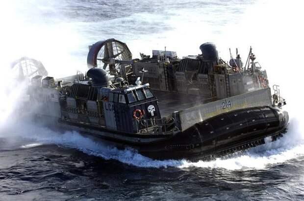LCAC на воздушной подушке авто, броневик, военная техника