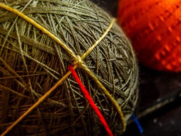 Плетение из ниток
