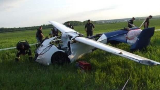 Авария автомобиля-самолета Aeromobil
