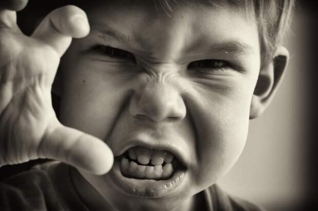 ТВ, жестокие игры и интернет могут вызвать агрессию ребёнка