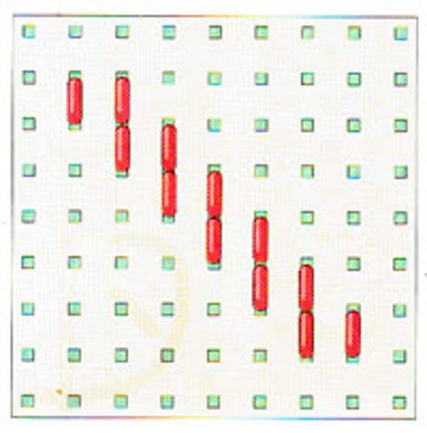 Вышивка крестиком по диагонали. Простая диагональ (фото 11)