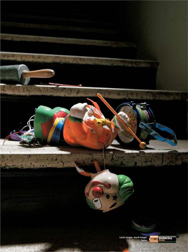 Жестокая расправа над игрушками в рекламе Duracell