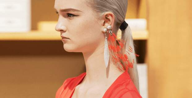 Украшения с жемчугом с показов haute couture