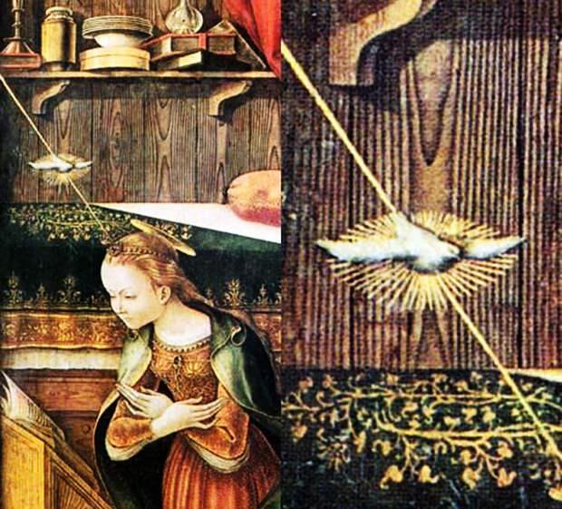 Факты появления НЛО в средние века. Изображения НЛО