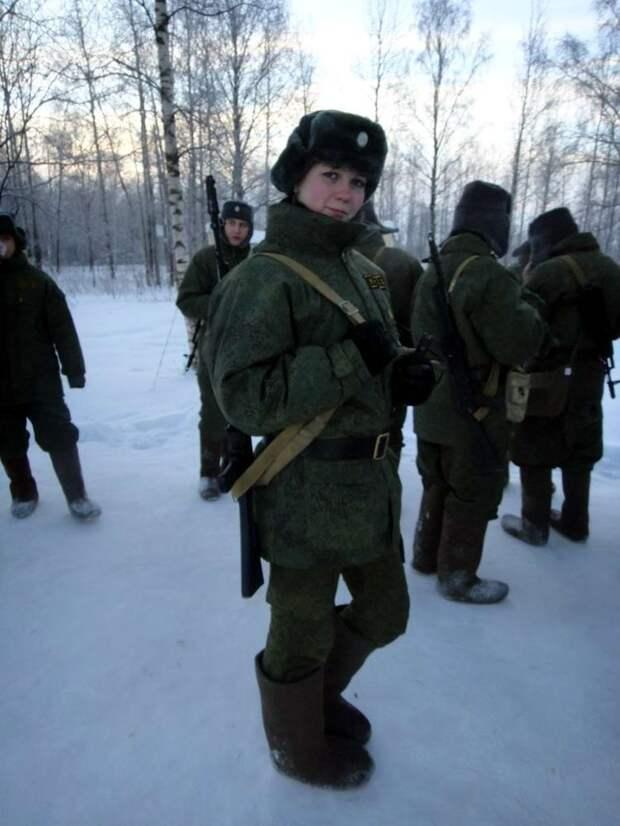 От тайги до британских морей ... : Лица девушек из Российской армии (37)