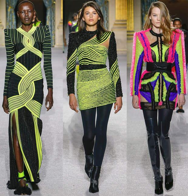 Модные платья Balmain