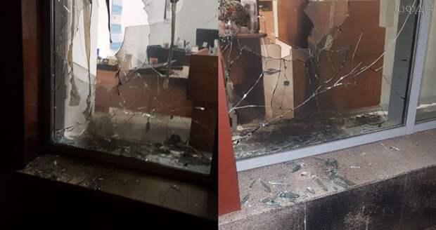 В Петербурге неизвестные ночью попытались поджечь офис издания ФАН