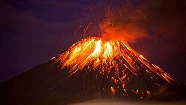 Японии грозит катастрофическое извержение вулкана Синдакэ