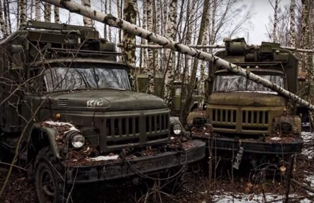 Кладбище военной техники: куда девают старые танки