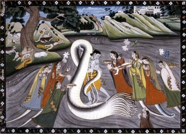 Загадка Мирового Змея