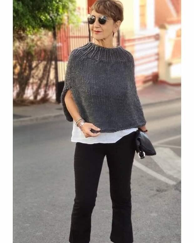 Что вяжет возрастная испанка, чтобы не только стильно выглядеть, но и заработать