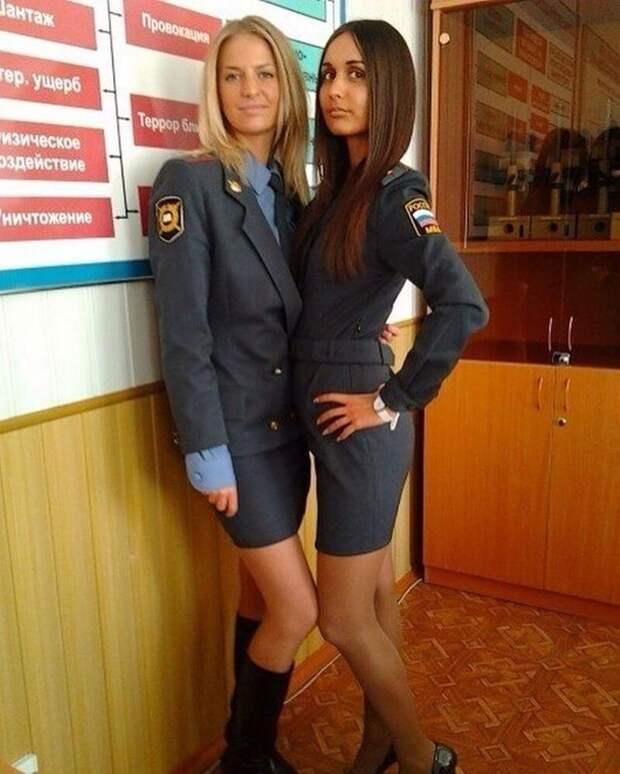 3. девушки, красота, мвд, пилотка, полиция, россия, форма