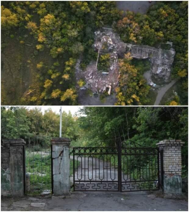 После того, как уже советская элита покинула поселок он много десятилетий лишь разрушался (пос. «Березки», Магнитогорск).