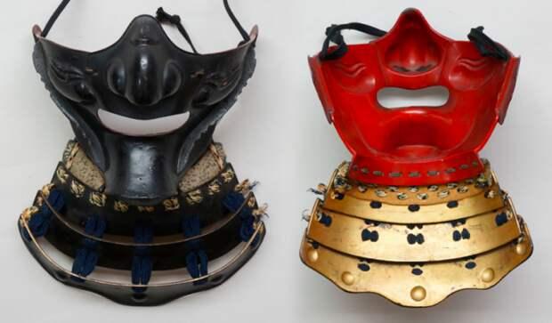Фрагмент шлема, защищающий лицо.