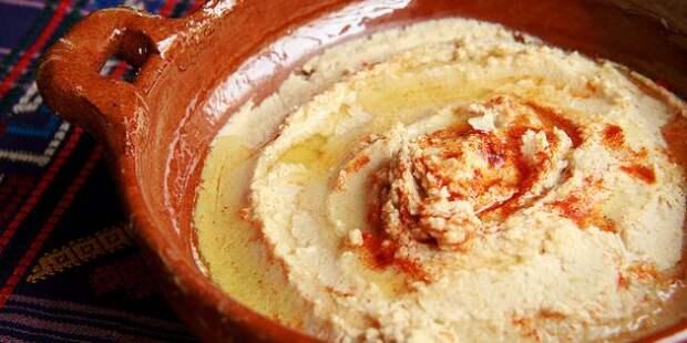 Как приготовить полезный хумус?