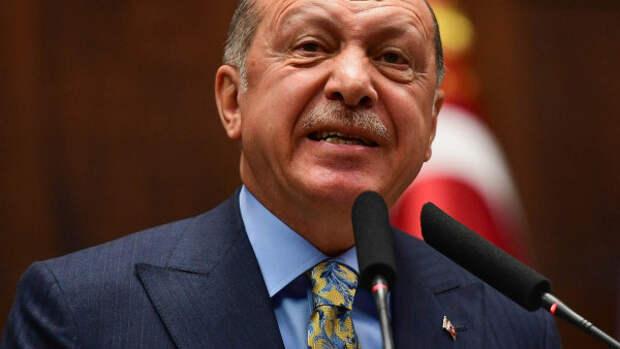 Эрдоган обвинил Россию в убийстве террористов в Сирии