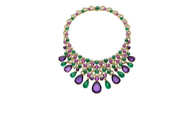 Bulgari High Jewellery necklace in yellow gold