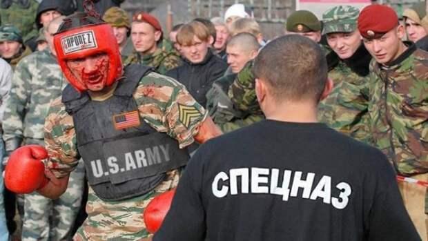 Офицер группы «Альфа» против офицера морской пехоты США (СМОТРИМ ВИДЕО БОЯ)