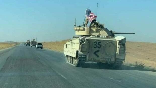Техника США в Сирии