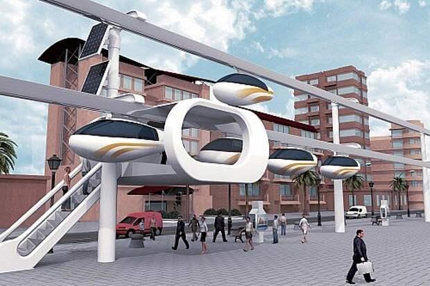 SkyTran олицетворяет собой самую перспективную концепцию – сочетание преимуществ общественного и личного транспорта. Кабины находятся в общем пользовании, но вы вызываете капсулу на станции персонально для себя и задаете ей нужный пункт назначения. Эта же идея встречается в других проектах, использующих иные средства передвижения. Схожесть идей заставляет верить, что именно за таким подходом будущее.