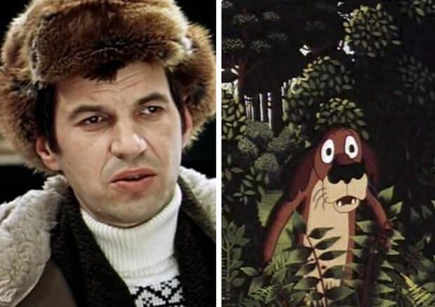 """17. Георгий Бурков – пес из """"Жил был пес"""". актеры, мультфильм"""