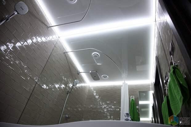 Светодиодная подсветка ванная