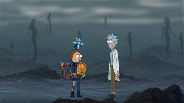 Рик и Морти попали в мир Death Stranding