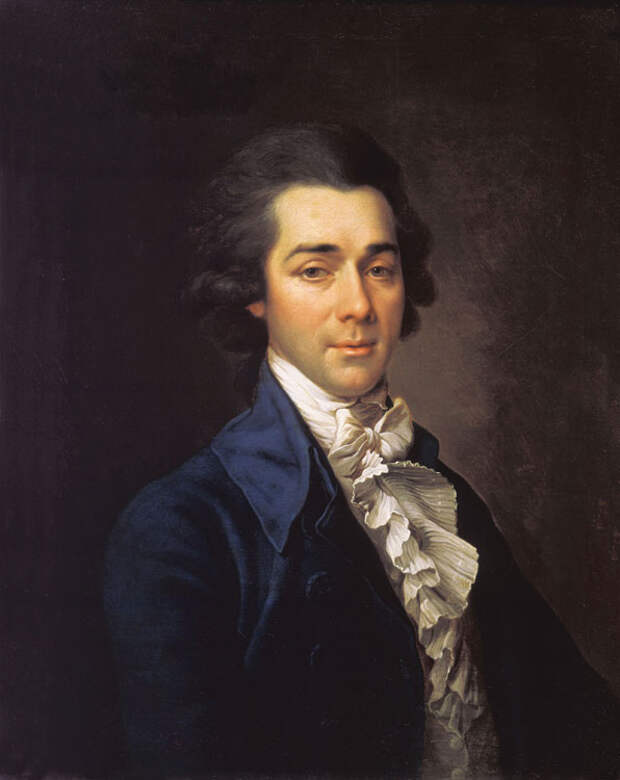 Николай Александрович Львов портрет Дмитрия Левицкого