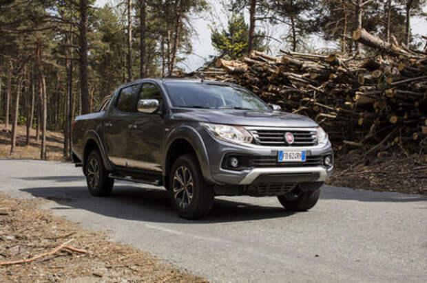 Пикап Fiat Fullback: старт продаж в России, цены и комплектации