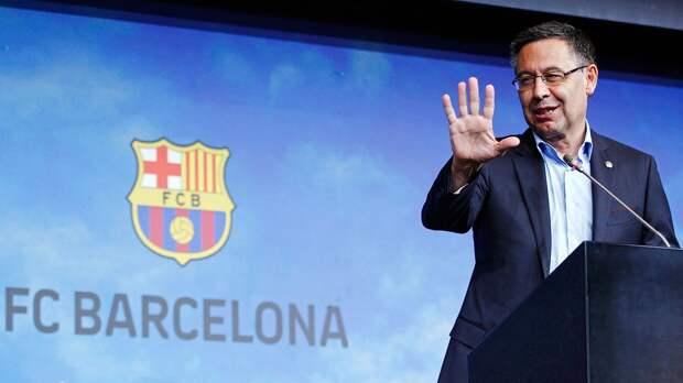Бывший президент «Барселоны» Бартомеу удалил страницу в твиттере после ухода из клуба