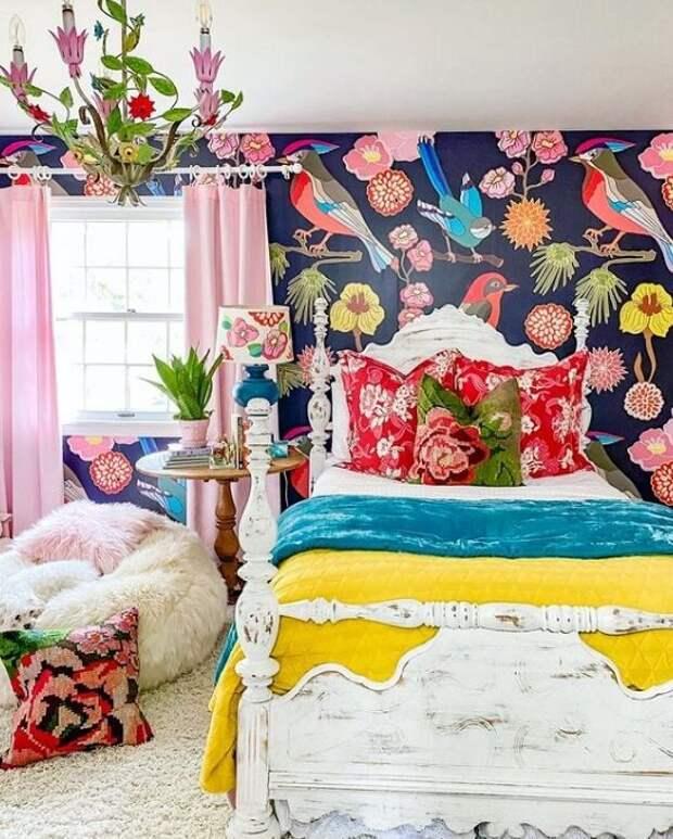 Спальня дочери. Фото из Инстаграм-аккаунта Кортни @zigandcompany