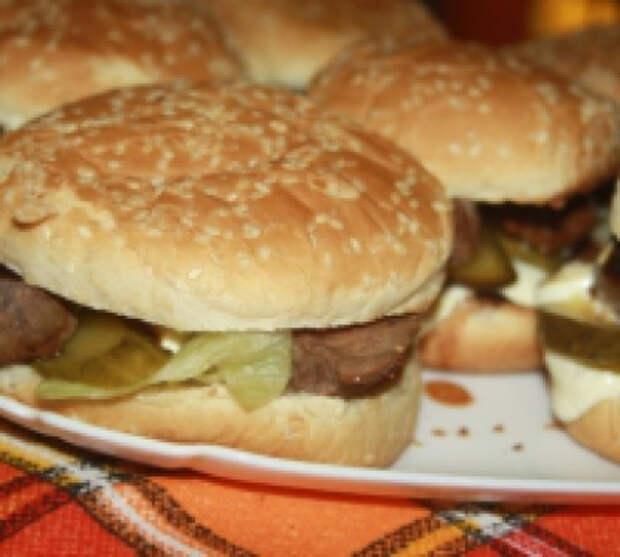 Стейк-бургеры с мраморной говядиной