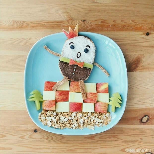 Творческий подход к еде: 18 способов накормить и порадовать ребенка