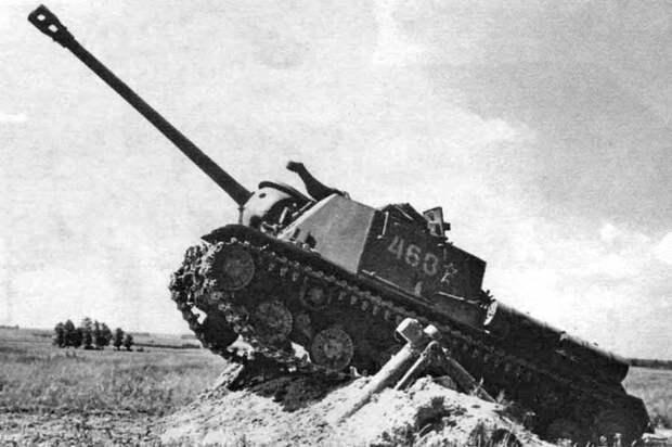 Противотанковые возможности советских 122-мм самоходных артиллерийских установок
