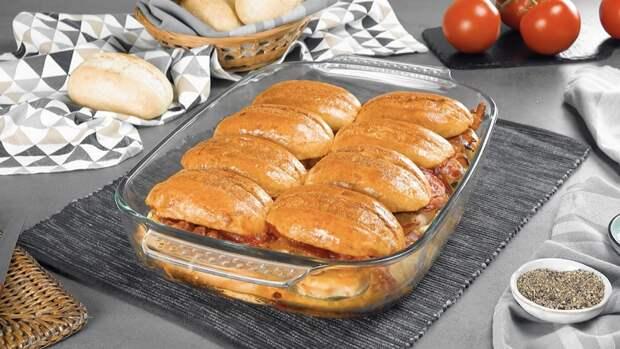 Хлебная запеканка с курицей и беконом: вкусное блюдо на закуску