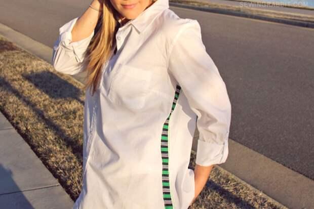 Как расставить блузку (Diy)